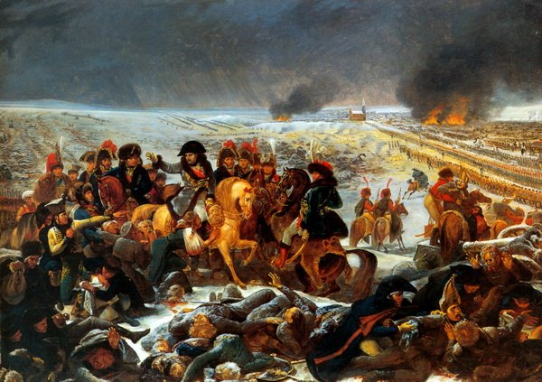 Наполеон на поле битвы при Прейсиш-Эйлау (Napoleon on the battle field of Eylau (Detail)