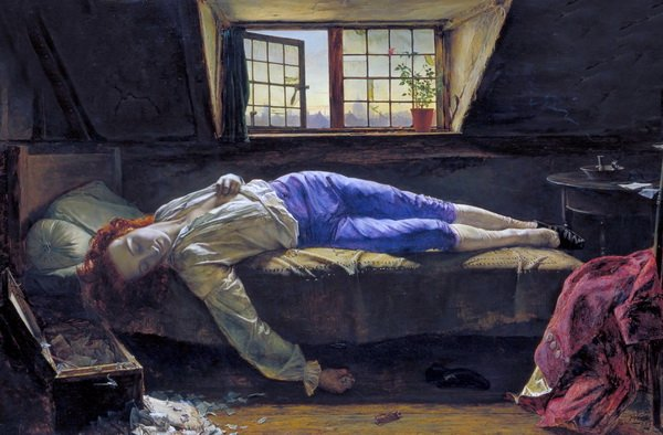 Смерть Чаттертона (Death of Chatterton)