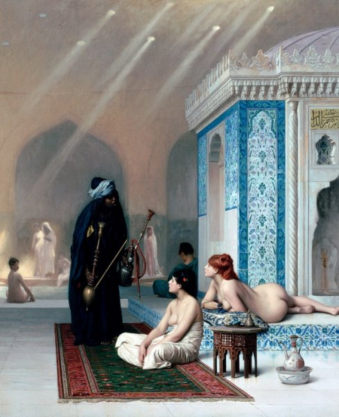 Бассейн в гареме (Pool in a Harem)