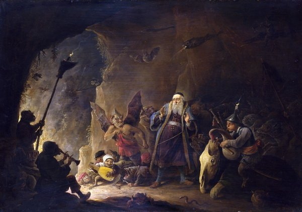 Богача ведут в ад (The Rich Man being led to Hell)