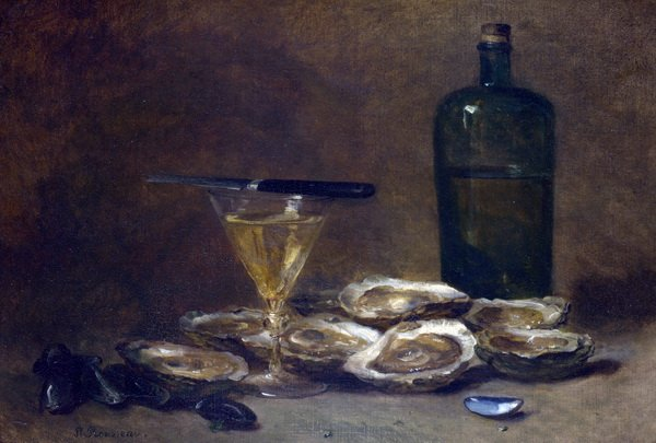 Натюрморт с устрицами (Still Life with Oysters)