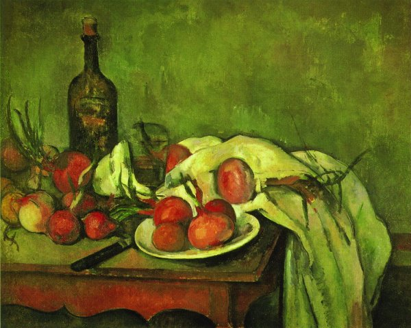 Натюрморт с луком (Still life with onions)