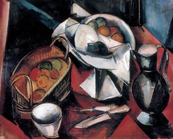 Натюрморт с ножами (Still Life with Knife)