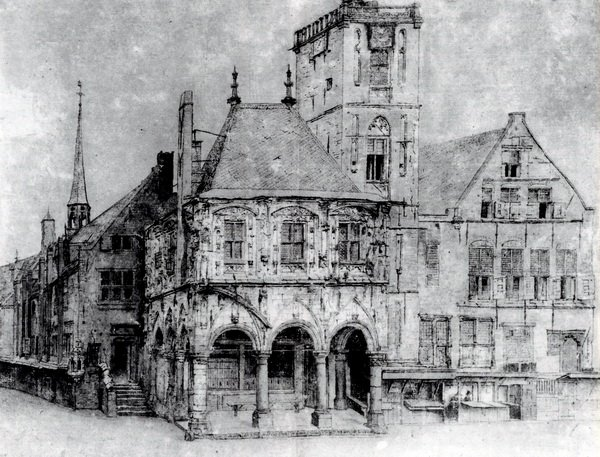 Старая ратуша в Амстердаме (The Old Town Hall in Amsterdam)