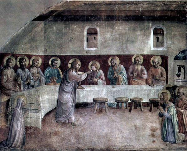 Причащение апостолов, Вечеря Господня (Communion of the Apostles, the Lord's Supper)