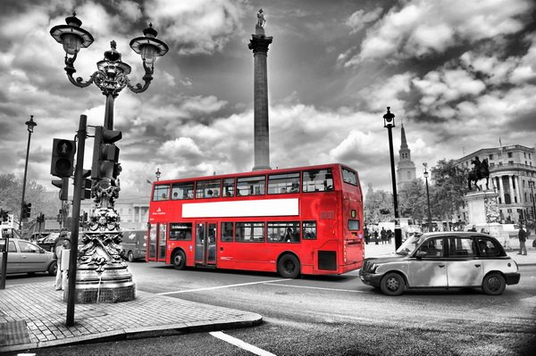 Автобус в Лондоне (Bus in London)