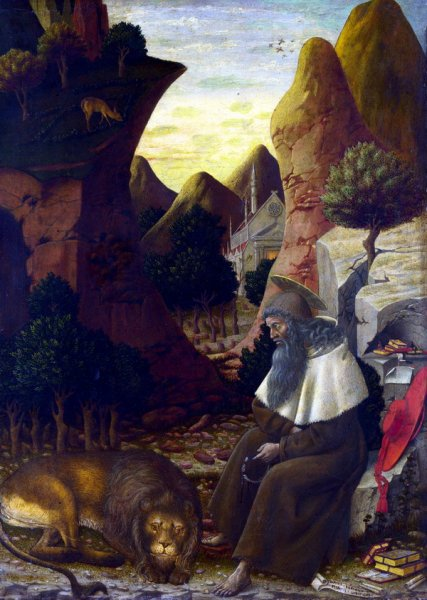Святой Иероним (Saint Jerome in a Landscape0