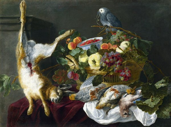 Натюрморт с фруктами (A Still Life with Fruit)