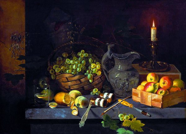 Натюрморт со свечой (Still life with candle)
