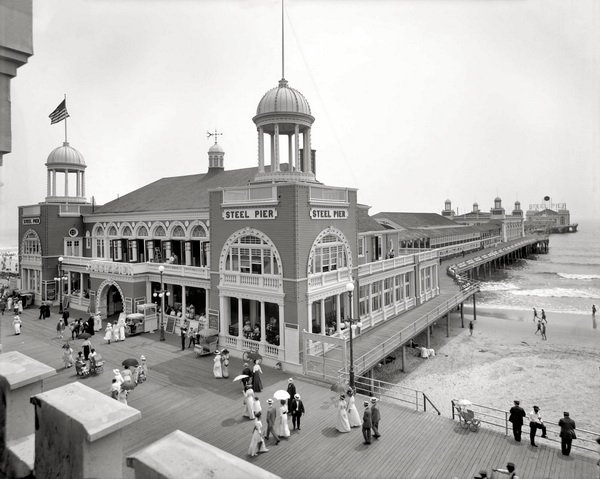 Пристань в Атлантик сити (Pier in Atlantic City)