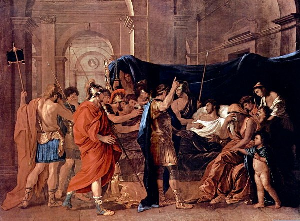 Смерть Германика (The death of Germanicus)