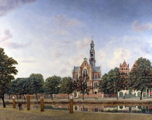 Вид на Вестеркерк, Амстердам (View of the Westerkerk, Amsterdam)