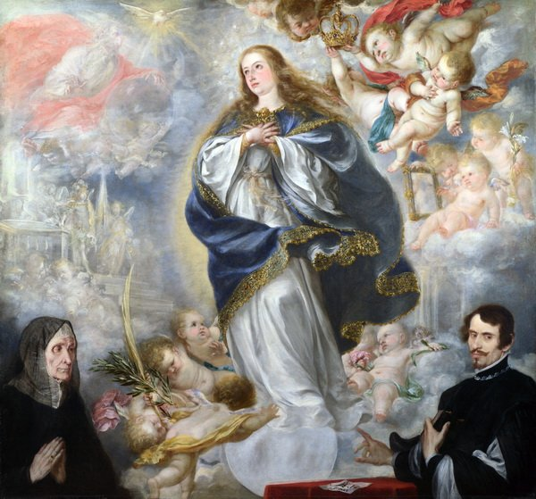 Непорочное зачатие (The Immaculate Conception with Two Donors)