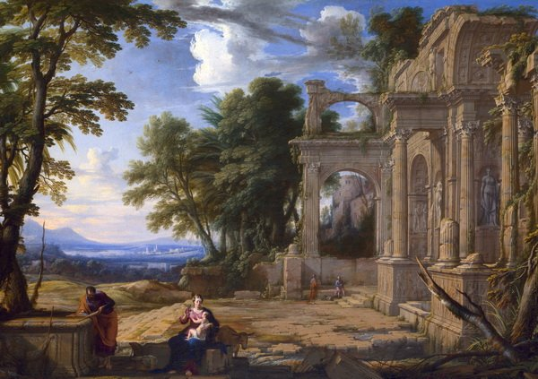 Отдых на пути в Египет (  Landscape with the Rest on the Flight into Egypt)