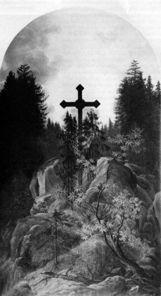 Крест в горах (Cross in the Mountains)