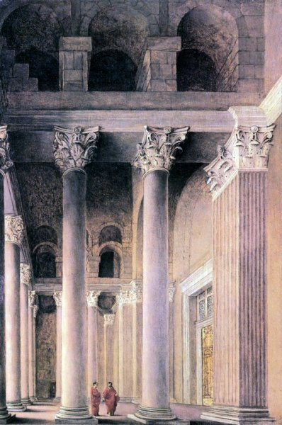 Портик в Риме (Portico of the Pantheon, Rome)