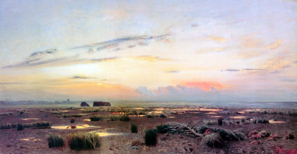 Вечерний марш (Marsh at evening)