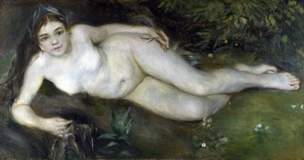 Нимфа Потоком (A Nymph by a Stream)