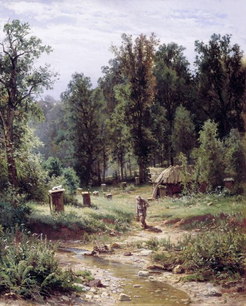 Пасека в лесу (Apiary in the woods)