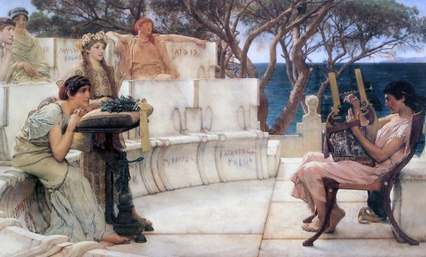 Сапфо и Алкей (Sappho and Alcaeus)