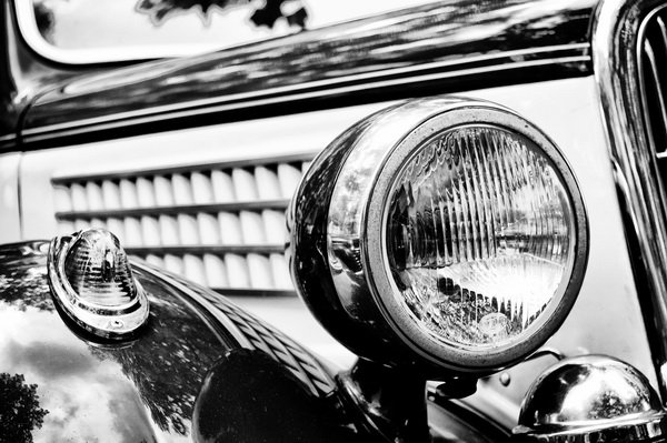 Фара ретро автомобиля (Retro car headlight)