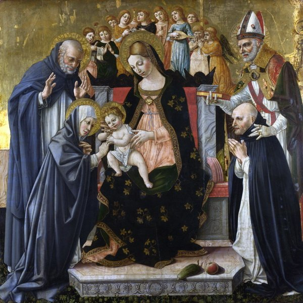 Святая Екатерина из Сиены (he Marriage of Saint Catherine of Siena)