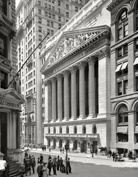 Фондовая биржа в Нью-Йорке (new york  stock exchange)