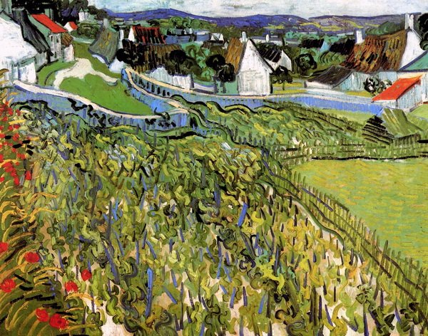 Виноградник в Овере (Vineyards with a View of Auvers)
