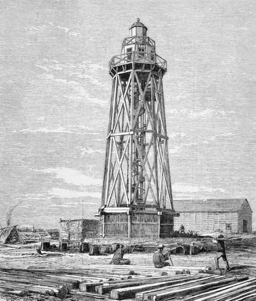 Постройка маяка (Construction of the lighthouse)