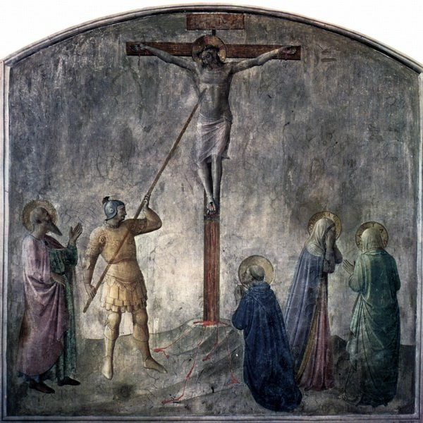 Распятие с копьем Лонгина (Crucifixion with Longinus lance)