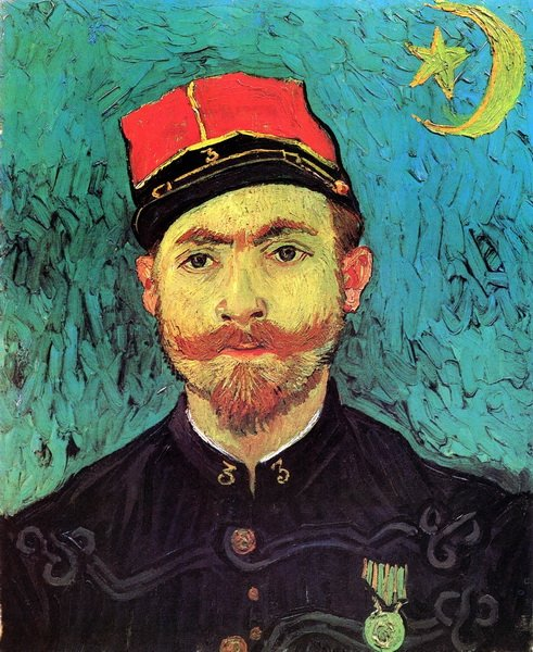 Портрет Милле, второго лейтенанта зуавов  (Portrait of Milliet, Second Lieutenant of the Zouaves)