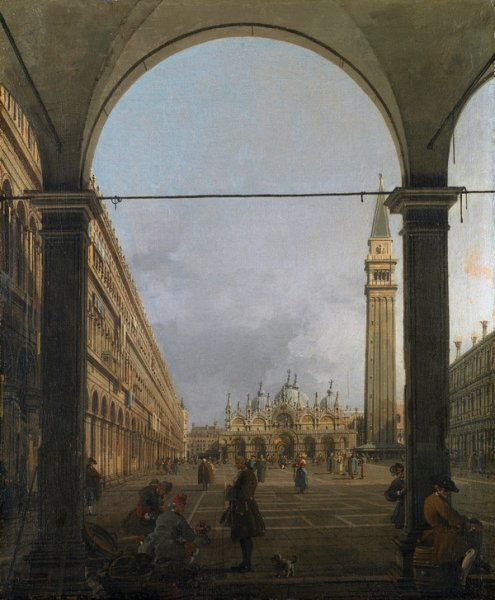 Площадь Сан-Марко (The Piazza San Marco)