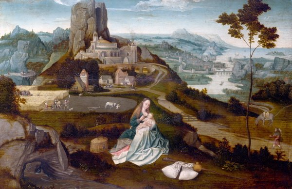 Отдых на пути в Египет  (Landscape with the Rest on the Flight into Egypt)