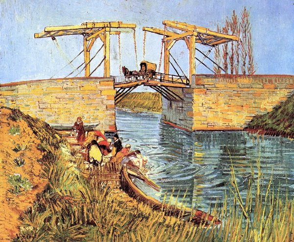 Мост Ланглуа в Арле  (The Langlois Bridge at Arle)
