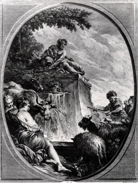Пастухи у фонтана (Shepherds at a Fountain)