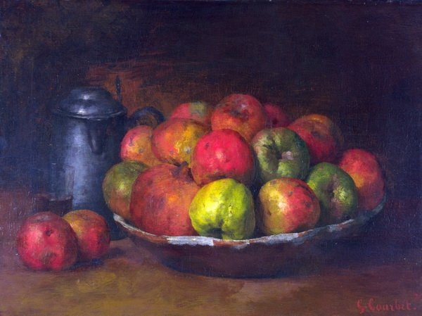 Натюрморт с яблоками и гранатом (Still Life with Apples and a Pomegranate)