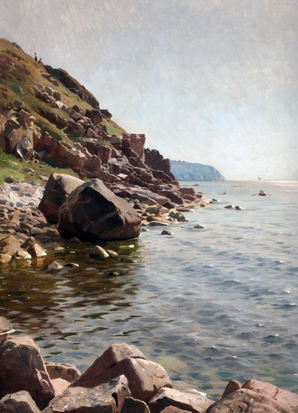 Берег озера (The shore of the lake)