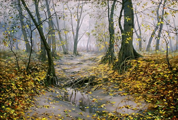 Осенний лес (Autumn forest)