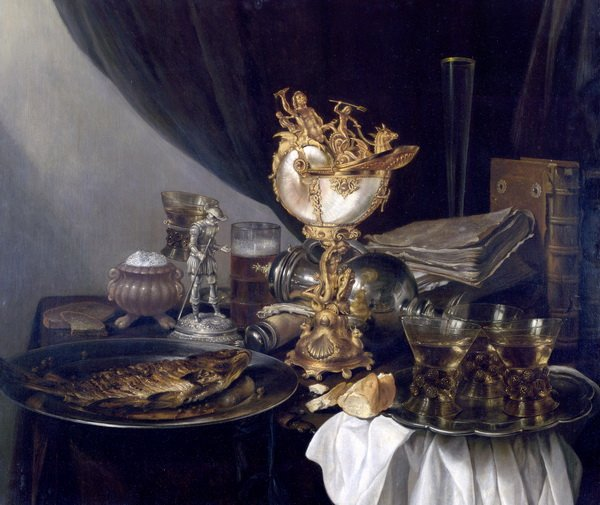 Натюрморт с кубком Наутилус (Still Life with a Nautilus Cup)