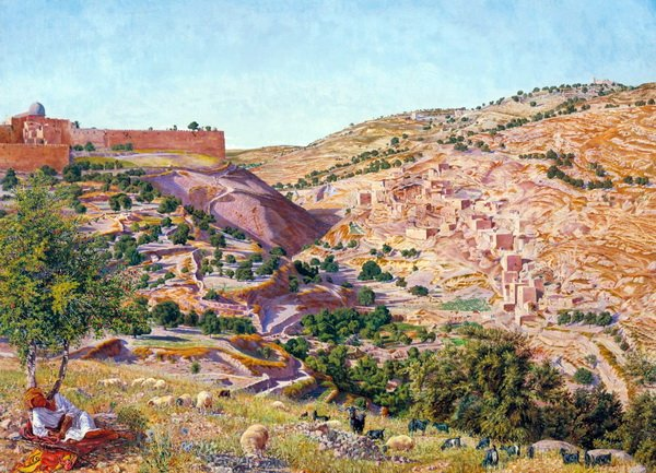 Иерусалим и долина Иосафата (Jerusalem and the Valley of Jehoshapha)