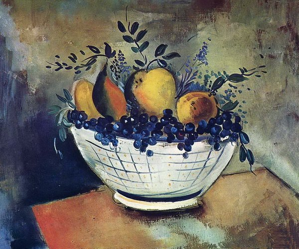 Ваза с фруктами (Still Life with Bowl of Fruit)