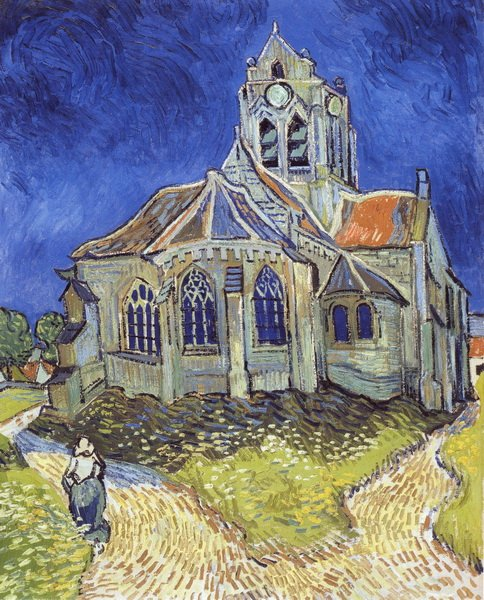 Церковь в Овере (The church at auvers)