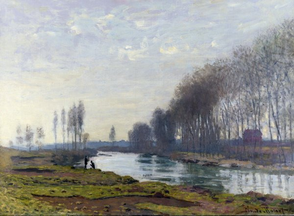 Сена в Аржантее (The Petit Bras of the Seine at Argenteuil)