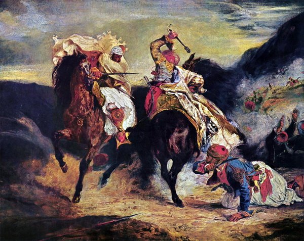 Борьба (Combat of the Giaour and the Pasha)