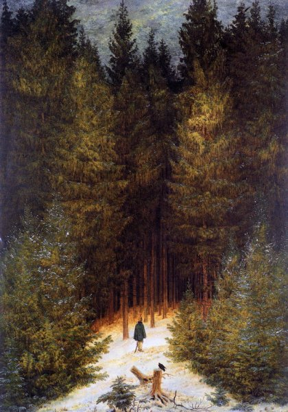 Егерь в лесу (The Chasseur in the Forest)