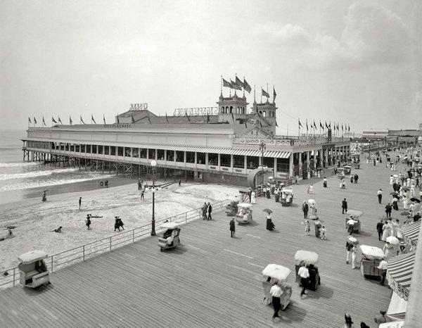Пирс в Атлантик сити (Pier in Atlantic City)