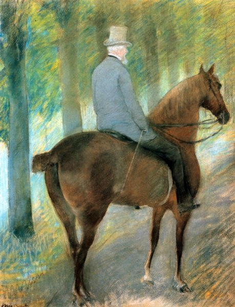 Г-н Роберт С. Кассат на коне (Mr. Robert S. Cassatt on Horseback)