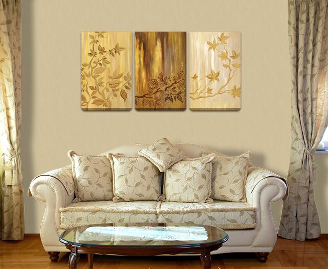 Благородные оттенки золотого цвета будут радовать Вас каждый день. Стильное  украшение любого интерьера. 39ce3105853