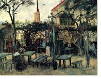 Постер Терраса кафе на Монмартре ( Terrace of a Cafe on Montmartre)
