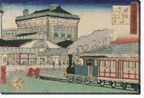 Картина Виды Токио (1878) (Photographic Eight Views of Tokyo)